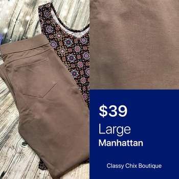 Manhattan Slim Pant (L)