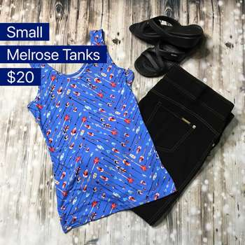 Melrose Tanks (S)