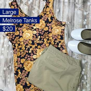 Melrose Tanks (L)
