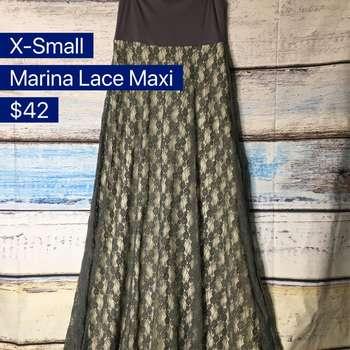 Marina Lace Maxi Skirt (XS)
