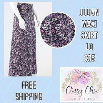 Julian Maxi Skirt (L)