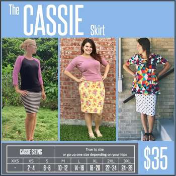 Cassie (Sizing Chart)
