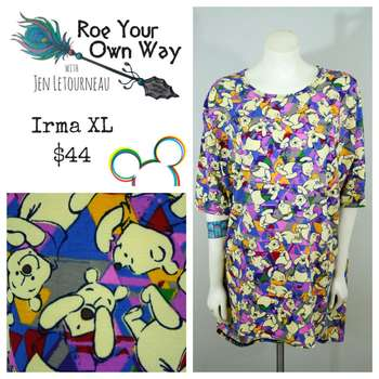 LuLaRoe Collection for Disney Irma (XL)