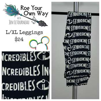 LuLaRoe Collection for Disney Kids Leggings (L/XL)