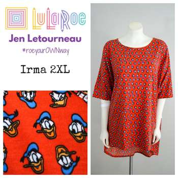 LuLaRoe Collection for Disney Irma (2XL)
