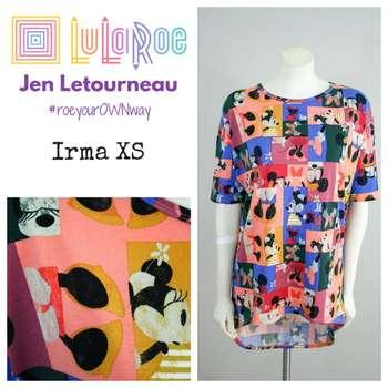 LuLaRoe Collection for Disney Irma (XS)