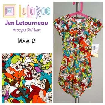 LuLaRoe Collection for Disney Mae (2)