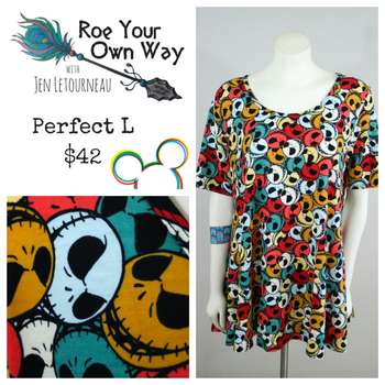 LuLaRoe Collection for Disney Perfect T (L)