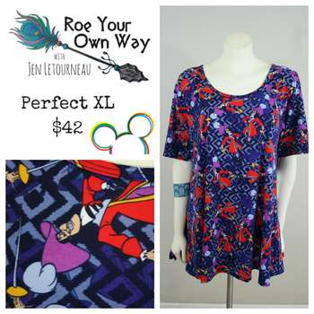 LuLaRoe Collection for Disney Perfect T (XL)