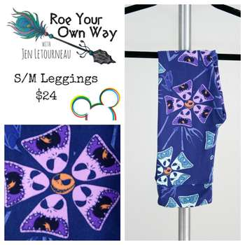 LuLaRoe Collection for Disney Kids Leggings (S/M)