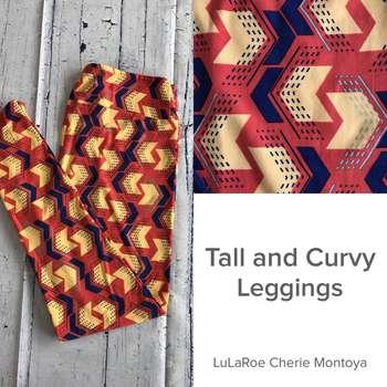 Tall and Curvy Leggings (TC Prints)