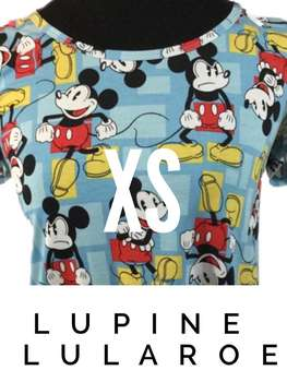 LuLaRoe Collection for Disney Classic T (XS)