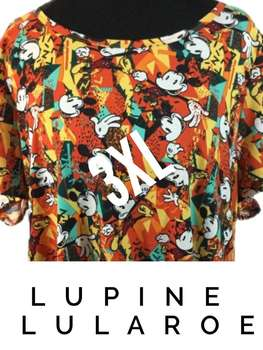 LuLaRoe Collection for Disney Classic T (3XL)