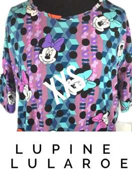 LuLaRoe Collection for Disney Irma (XXS)