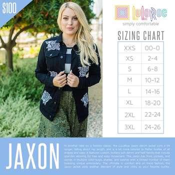 Jaxon (Sizing Chart)