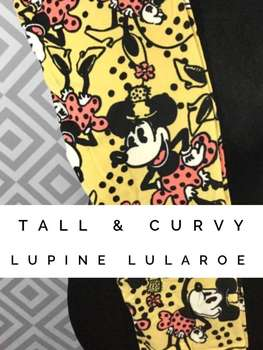 LuLaRoe Collection for Disney Tall and Curvy Leggings (Tall and Curvy)