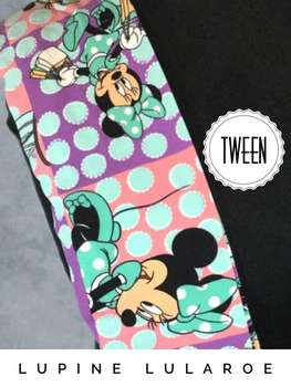 LuLaRoe Collection for Disney Tween Leggings (Tween)