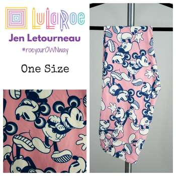 LuLaRoe Collection for Disney One Size Leggings (One Size)
