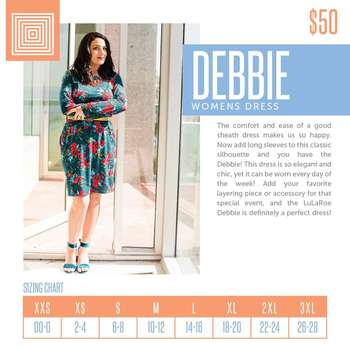 Debbie (Sizing Chart)