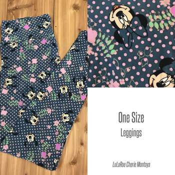 LuLaRoe Collection for Disney One Size Leggings (OS Solids)
