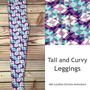 Tall and Curvy Leggings (TC Prints)