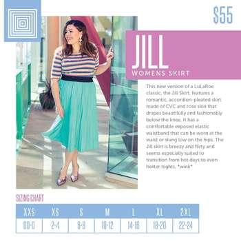 Jill (Sizing Chart)