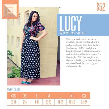 Lucy (Sizing Chart)