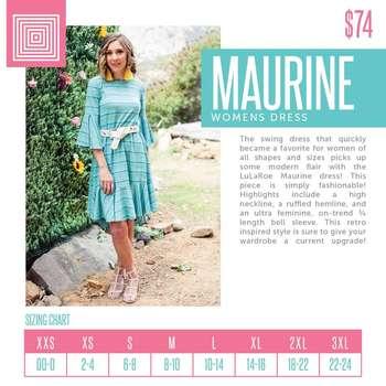 Maurine (Sizing Chart)