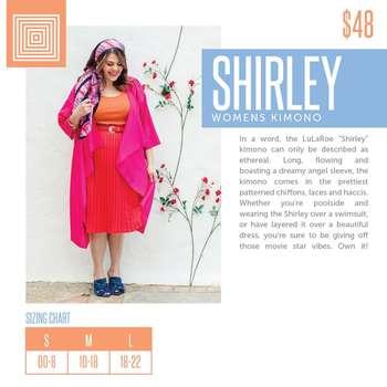 Shirley (Sizing Chart)