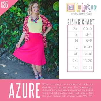 Azure (Sizing Chart)