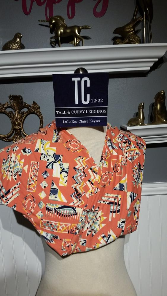 a31d4f95a54f4b Claimed! Tall and Curvy Leggings (TC Prints) By Claire Keyser $25.00 ...