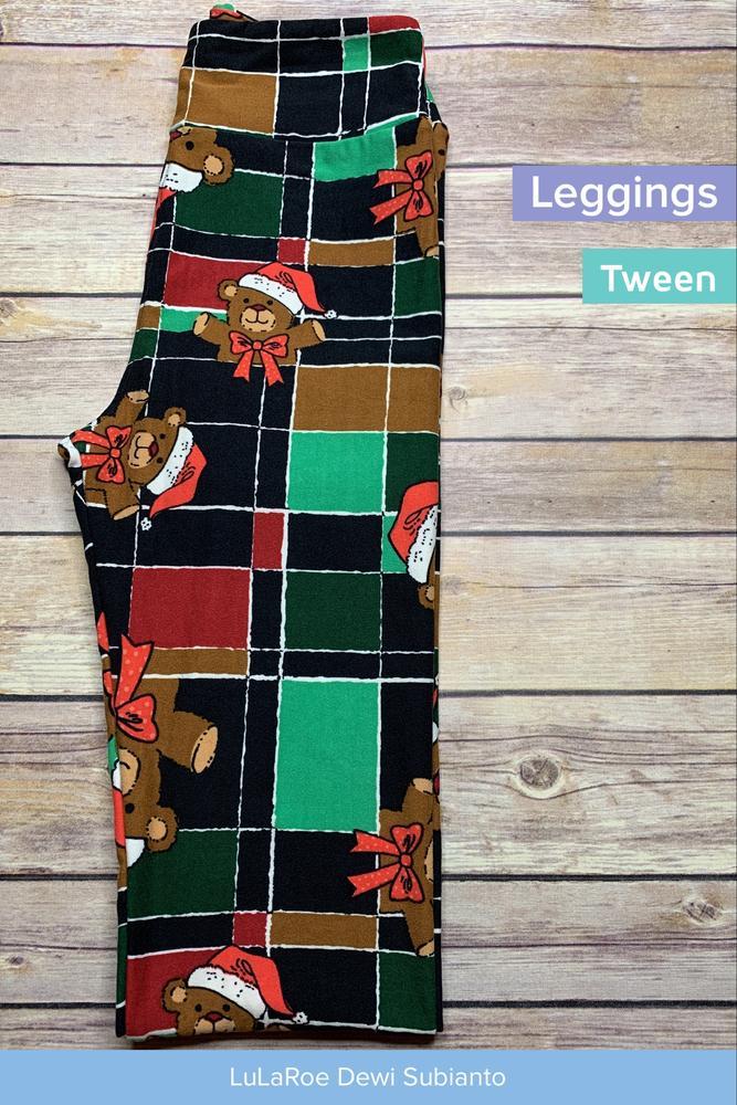 b0382b055d0f69 LuLaRoe 24/7 Sonlet Party - RETAIL & FREE SHIPPING - Tween Leggings Tween  Christmas