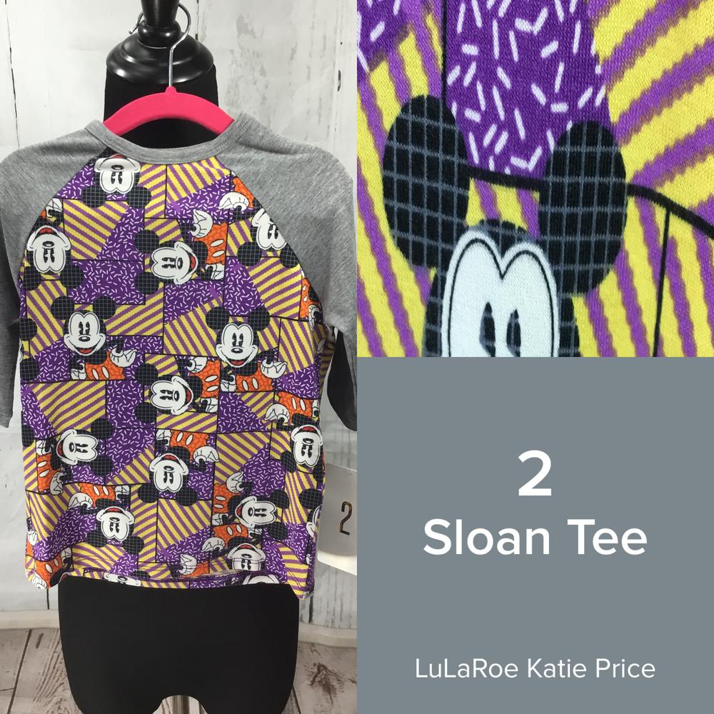Claimed! LuLaRoe Collection for Disney Sloan (2-8) (2) By